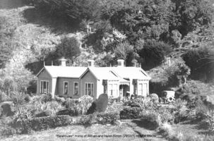 Helensvale, Leith Valley Dunedin, home of William Henderson and Helen Sinton WIGHT, my great grandparents